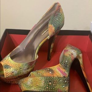Wild pair heels